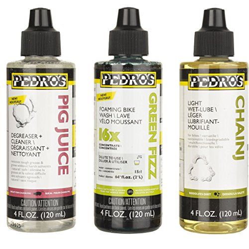 Pedro's Essential Bike Care Kit White, (Pedros Lube)