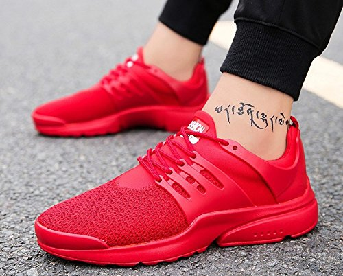 Free Fashion Transform Sneakers Shoes Red Flyknit Men's Athletic JiYe Running fq0UwxIqv