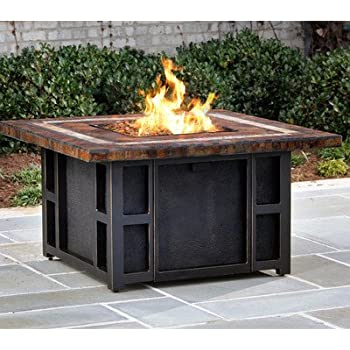 Amazon Com Agio Heritage Gas Fire Pit With Copper