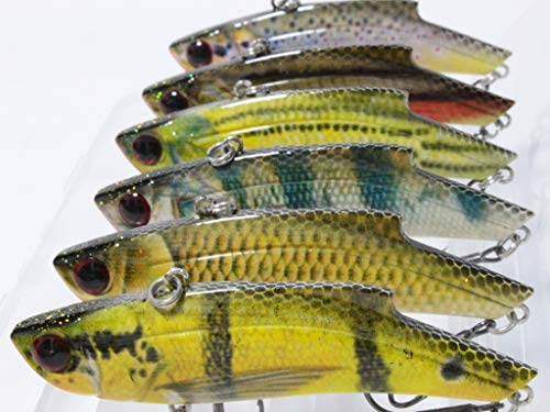 wLure Lifelike Minnow Crankbait for Bass Fishing Bass Lure Long Casting Lipless Jigging Fishing Lure HL676KB