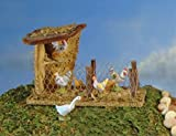 Fontanini Bird Shelter Building Italian Nativity Village Figurine