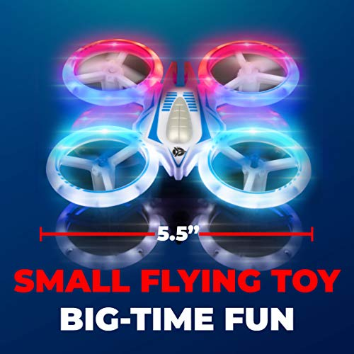 Force1 UFO 4000 Mini Drone for Kids – LED Remote Control Drone, Small RC Quadcopter for Beginners with LEDs, 4-Channel…