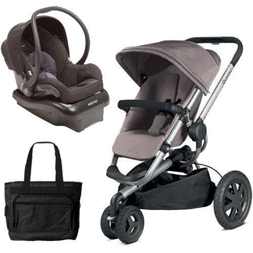 Quinny Buzz Xtra Travel System with Black Car Seat and