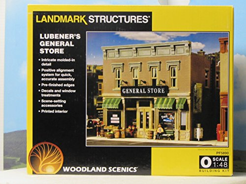 WOODLAND SCENICS PF5890 Lubener's General Store O for sale  Delivered anywhere in USA