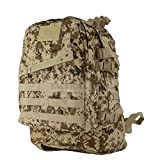 ZAPT 3 Day Tactical Molle Military Hydration Camo Backpack Outdoor Camping Sport Bag (MARPAT Desert)