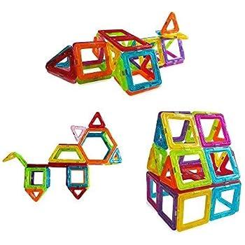 Amazon.com: 42 Pieces MINI Magnetic Building Blocks Toys