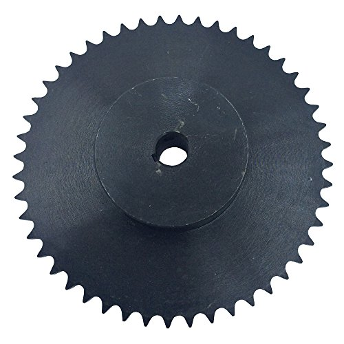 - KOVPT # 40 Chain Roller Sprocket 50 Teeth Bore 0.75 Inch Type B Pitch 0.5 Inch Carbon Steel Black 1Pcs