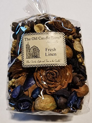 Fresh Linen Potpourri Large Bag - Perfect For Spring, Summer, Fall, and Winter Decoration or Bowl Filler