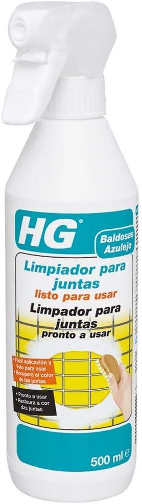 HG - Limpiador para Juntas, Spray, 500ml: Amazon.es: Salud y cuidado personal