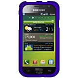Amzer AMZ92482 Rubberized Snap-On Crystal Hard Case for Samsung Vibrant T959 and Samsung Galaxy S I9000 - 1 Pack - Frustration-Free Packaging - Blue