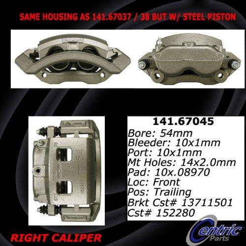 Centric Parts 141.67045 Semi Loaded Friction Caliper