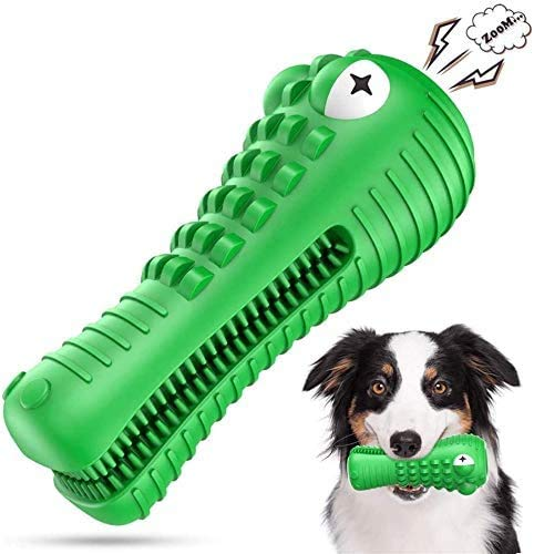 NOUGAT Squeaky Dog Chew Toys- Heavy Chewers Dog Toys- Indestructible Tough Dog Toys for Aggressive Chewers Large Breed…