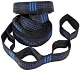 Hammock Straps Tropical Breeze Lightweight Polyester Material Straps for Trees - Easy to Set Up (10 feet L x 1 inch Triple Stitched Seams)
