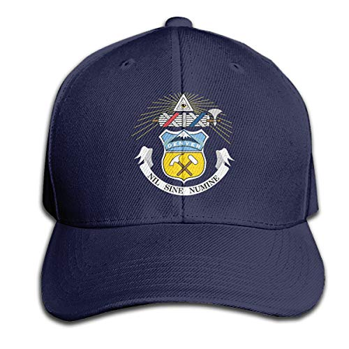 - MagniFun Hat Birth Records Denver Colorado Casquette, Printed Peaked Snapback Baseball Cap Unisex for Outdoors Sport Navy