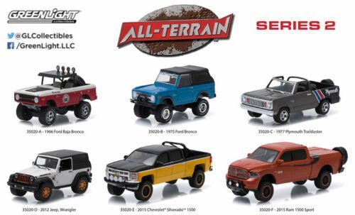Greenlight All Terrain Series 2 2014 Dodge Ram 1500 Sport