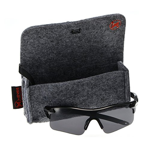 Men's cycling sunglasses bright black frame grey - Nordstrom Sunglasses Mens