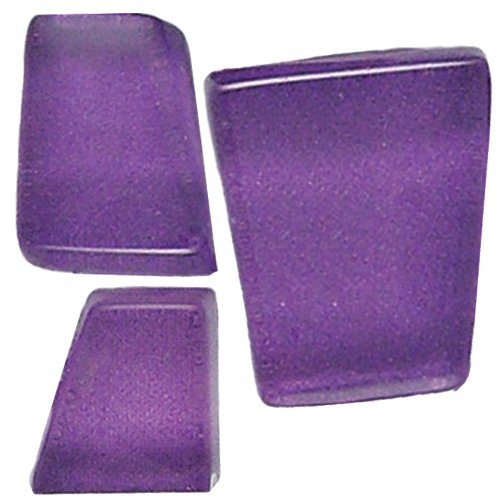 Mosaic Mercantile Crafter's Solid Tile, 1-Pound, Dark Purple