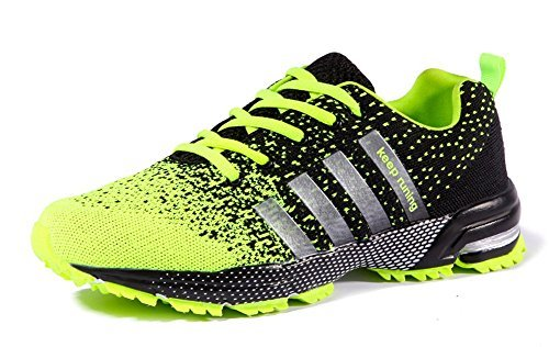 Ausom Men's Women's Casual Fashion Lovers Sneskers Sports Outdoor Jogging Walking Running Shoes
