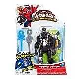 Marvel Ultimate SpiderMan Web Warriors Web Slingers Agent Venom Figure