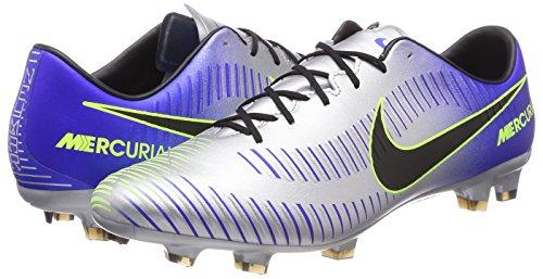 Njr Da Veloce Chrome Fg Nike Blu Volt Black Mercurial 407 Uomo Scarpe Blue Calcio racer Iii U1xwgYn