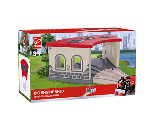 Hape - E3704 - Circuit de Train en Bois - Gare de Triage