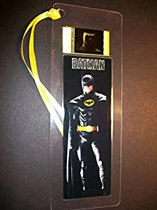 BATMAN Movie Film Cell Bookmark memorabilia Compliments poster dvd book