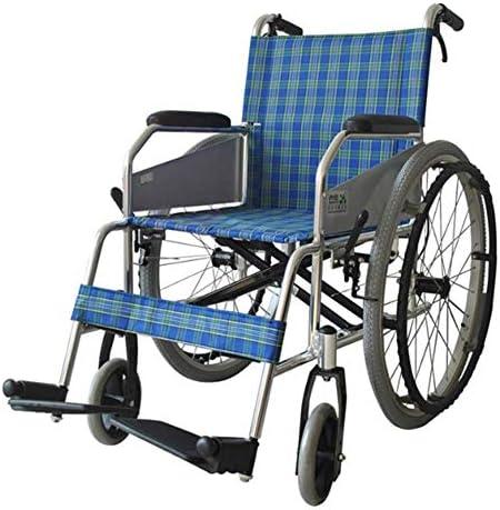 医療、車椅子高齢者アルミ車椅子を運転する軽量の調整可能な折りたたみ車椅子
