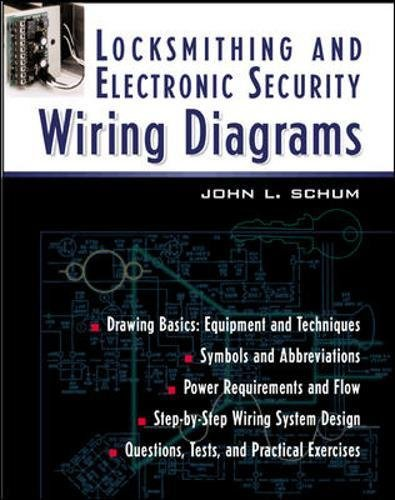 Locksmithing and Electronic Security Wiring Diagrams