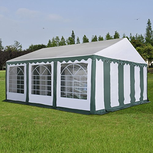 New MTN-G 20'X20' Wedding Tent Shelter Heavy Duty Outdoor Party Canopy Carport Green by MTN Gearsmith