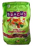 Brachs Gummi Bears & Worms, 48 Oz Bag (3 Lbs)