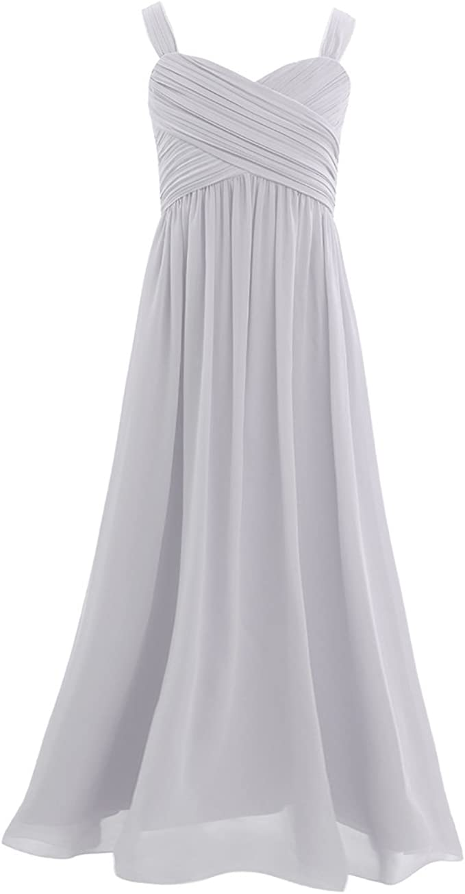 CHICTRY Mädchen Prinzessin Kleid Elegante Ärmellos Chiffon Kleid