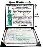 U.S. Citizenship and Naturalization certificate