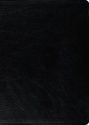ESV MacArthur Study Bible (Genuine Leather, Black)