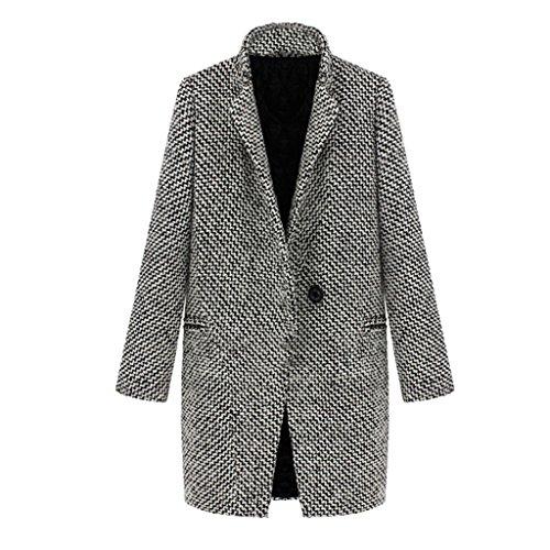 Wool Blend Coat - 1