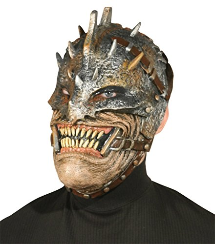 Scary Real Tribal Warrior Costumes - Warrior Devil Demon Horror Latex Adult