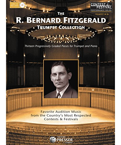Carl Fischer Trumpet - Carl Fischer The R. Bernard Fitzgerald Trumpet Collection Book/CD