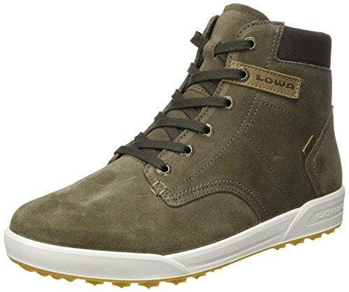 Lowa Dublin III GTX QC, Sneaker a Collo Alto Uomo Marrone (Stone/Dark Brown)