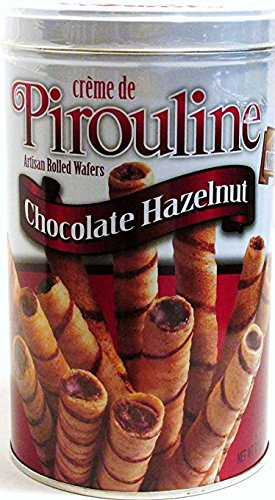 Pirouline Chocolate Hazelnut Creme Filled Wafer Wafer Rolls