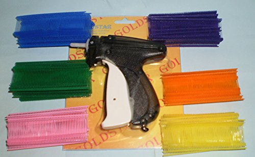 CLOTHING GARMENT PRICE LABEL TAGGING TAG TAGGER GUN +3000 PIN 1'' assorted color