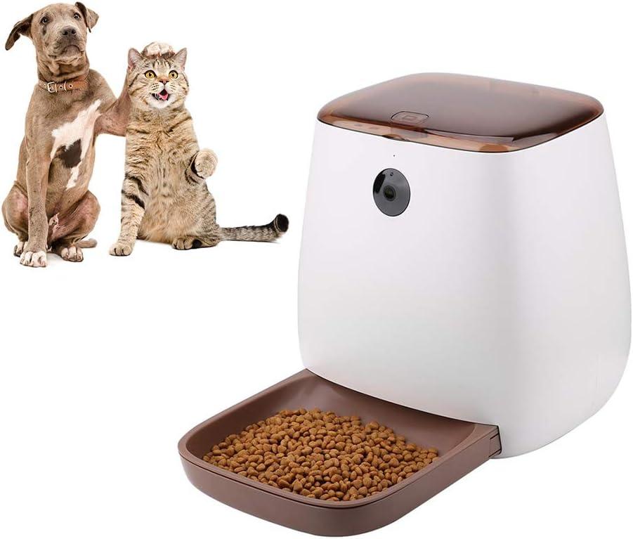 Alimentador automático de Mascotas para Gatos Perros - Dispensador ...
