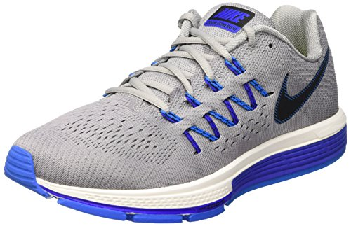 Nike Air Zoom Vomero 10 Loopschoenen Wolf Grijs / Zwart / Drk Gry / Pht Bl