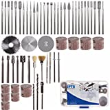 New 58pcs Assorted Sanding Grinding Polishing Rotary Tool Accessory Set Electric Grinding Mill 670 mini saw attachment drill press three tool combo kit trio scroll bits accessories