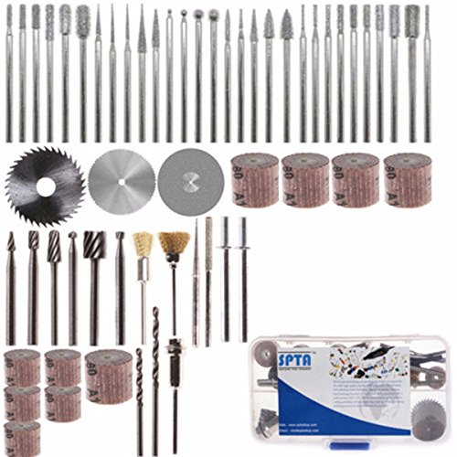 Letbo New 58pcs Assorted Sanding Grinding Polishing Rotary Tool Accessory Set Electric Grinding Mill Accessori
