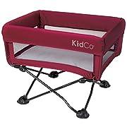 KidCo DreamPod Portable Bassinet, Cranberry