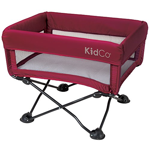 KidCo DreamPod Portable Bassinet, Cranberry