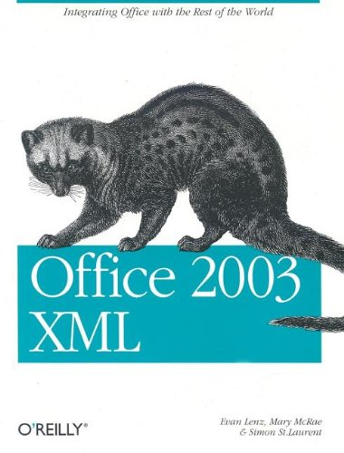 [PDF] Office 2003 XML Free Download | Publisher : O'Reilly Media | Category : Computers & Internet | ISBN 10 : 0596005385 | ISBN 13 : 9780596005382