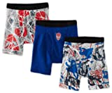 Fruit Of The Loom Little Boys' Spiderman Movie 4 Boxer Brief