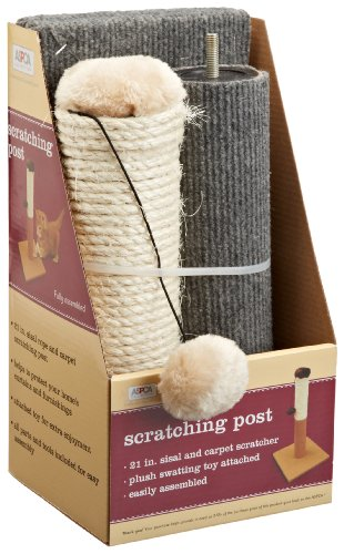 ASPCA-AS-6130-Cat-Scratching-Post-Gray