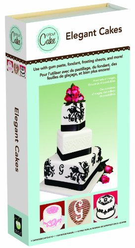 : Cricut Cake Cartridge, Elegant Cakes