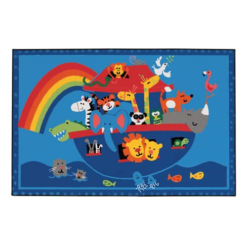 Carpets for Kids 36.74 Noah's Animals Rug - 3' x 4'6